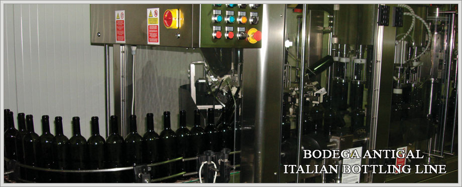 Bodega Antigal Italian Bottling Line